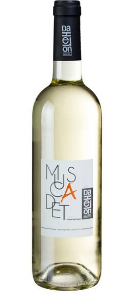 Vignoble Daheron - muscadet côtes de grandlieu sur lie - Blanc - 2019