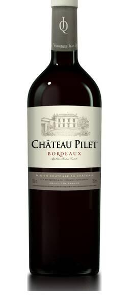 Vignobles Jean Queyrens et Fils - château pilet - Rouge - 2018