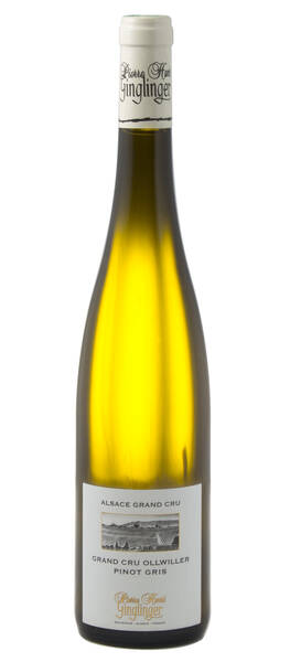 Domaine Ginglinger Pierre Henri - pinot gris grand cru ollwiller bio - Blanc - 2014