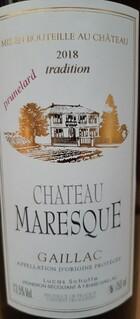 Château Maresque Prunelard