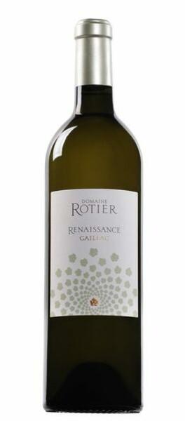 Domaine Rotier - renaissance  sec - Blanc - 2017