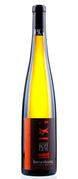 Domaine Bott-Geyl - riesling kronenbourg cru d'alsace vendanges tardives - Blanc - 2015