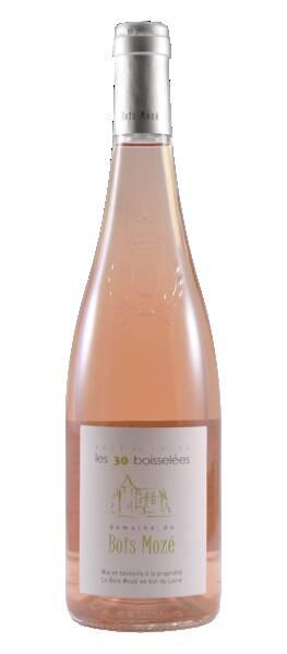 Domaine de Bois Mozé - les 30 boisselées - Rosé - 2018