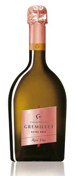 Champagne Gremillet - rosé vrai - Pétillant