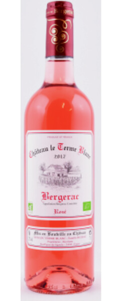 Château Le Terme Blanc - Bergerac  BIO - Rosé - 2018