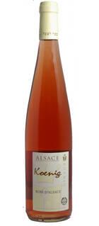 Rosé d'Alsace KOENIG 2019 VEGAN