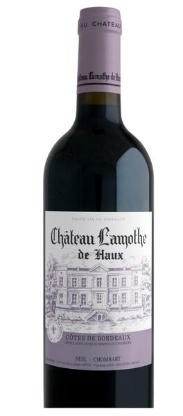 Château Lamothe de Haux - cuvée traditionnelle -cadillac - côtes de bordeaux - Rouge - 2018