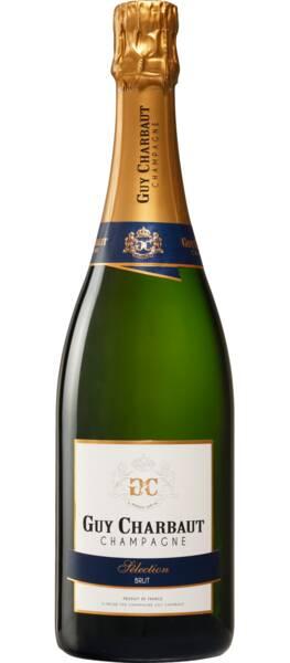 Champagne Guy Charbaut - brut sélection - Pétillant