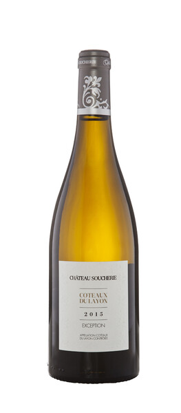 Château Soucherie - coteaux du layon exception - Liquoreux - 2015