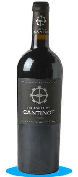 Château Cantinot - les tours de - Rouge - 2011
