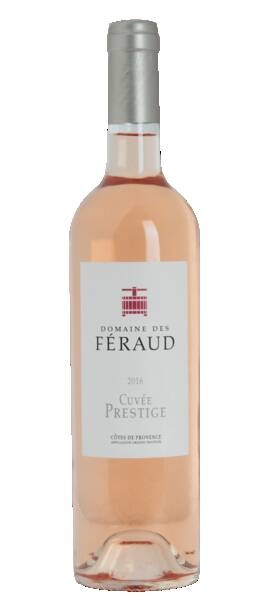 Domaine des Féraud - cuvée prestige - Rosé - 2018