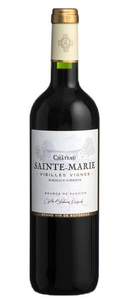 Château Sainte Marie - vieilles vignes - Rouge - 2018