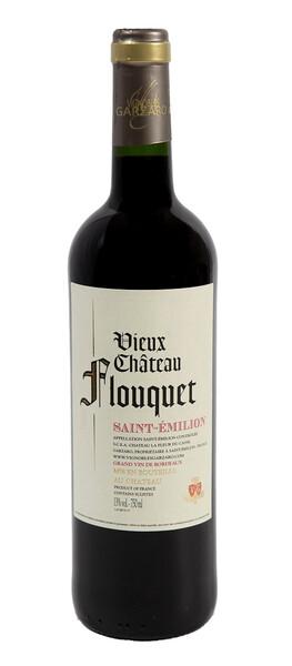 Vignobles Garzaro - vieux château flouquet - Rouge - 2016