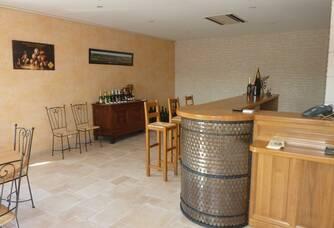 Le caveau de dégustation du domaine Champagne Boulachin Chaput