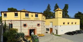 Entrée du Château Cabezac