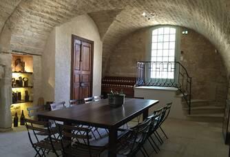 Espace de dégustation du Château de L'Engarran