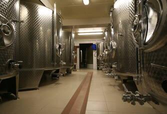 Les cuves du Champagne Marinette raclot