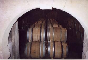 La chai du Château Des Correaux