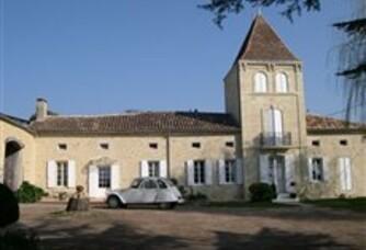 La vieille bâtisse du Château Gaury Balette