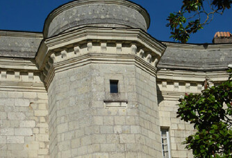 Vue sur le Château de Parnay