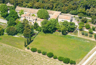 Vue aérienne du Château de Vérone