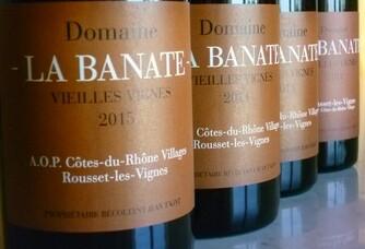 Les Viellles Vignes du Domaine de La Banate