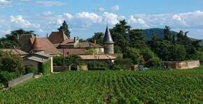 vue des vignes et du villages, tourelles