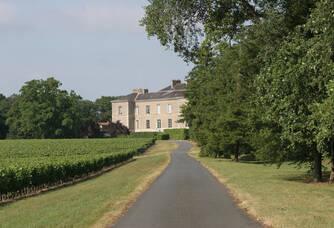 Château du Cléray - L'entrée du domaine