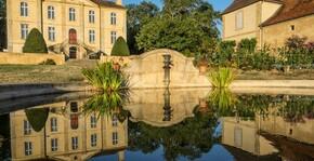 Château de Viella - Le château et son lac