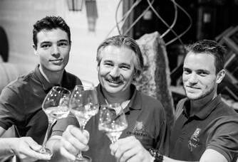 Thiébaud, Dominique et Julien Frey