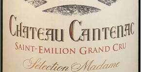 Ch. Cantenac Sélection Madame Saint Emilion Grand Cru