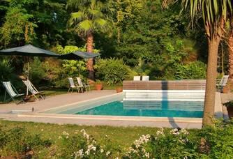 Château Rieutort - La piscine