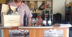 Domaine Ludovic Charvet - Ludovic pour la dégustation des vins