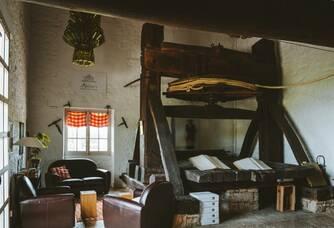 Pressoir à Perroquet datant du XVIIIe siècle