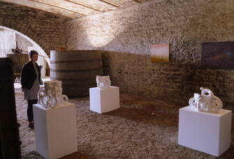 Quand l'art contemporain s'invite dans nos caves