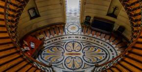 Hall du château