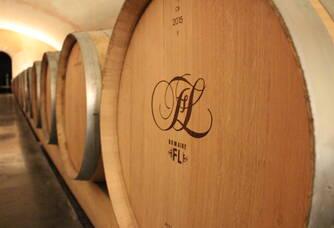 Chai à barriques - Elevage avec batonnage sur lies de nos futurs vins de garde