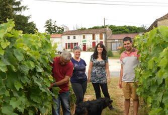 La famille Benassy du Domaine de Poncereau de Haut