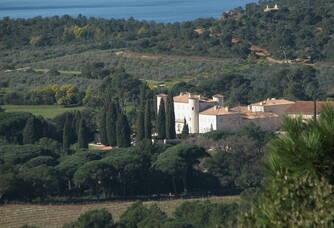La propriété du Château Léoube