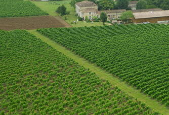 Vue aérienne du Château Le Sepe