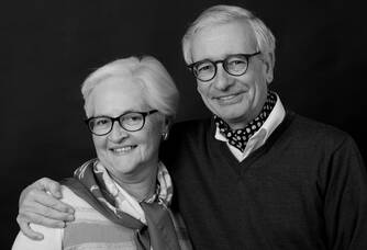 Béatrice et Bernard Nivollet du Château Haut-Blanville