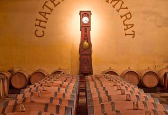 Le chai du Château de Myrat