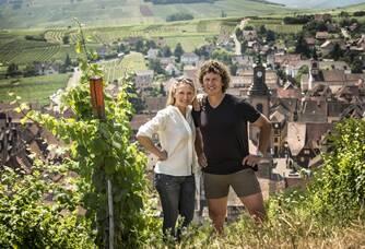 Jean Christophe et Valrérie du Domaine de Bott-Geyl